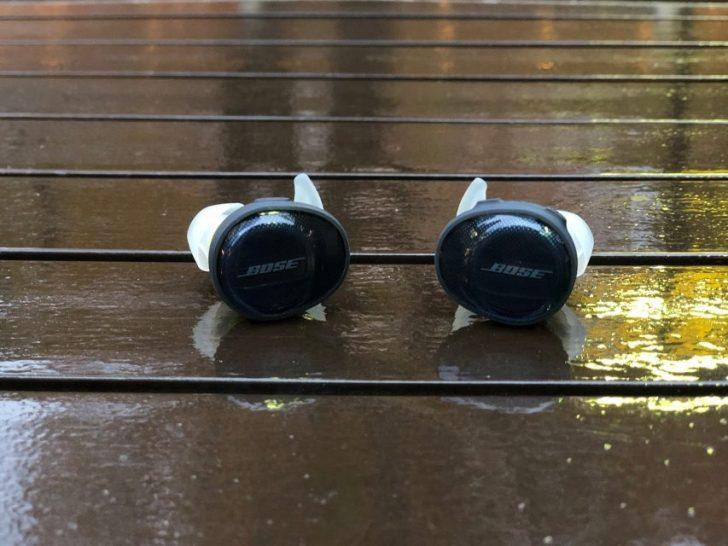 Bose SoundSport Free wireless headphones 完全ワイヤレスイヤホン ミッドナイトブルー/イエローシトロン本体