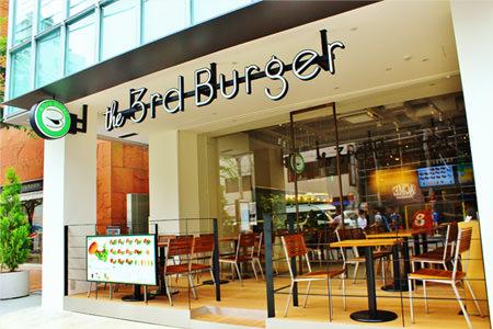 the-3rd-burger青山骨董通り店の外観