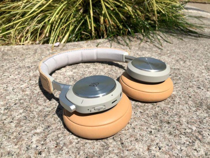 バングアンドオルフセンのノイズキャンセリング付きワイヤレスヘッドホンbeoplay h9iナチュラルの外観