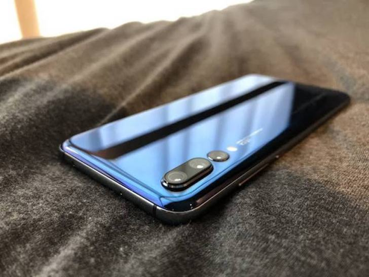 huawei_p20_Midnight Blue_back_design