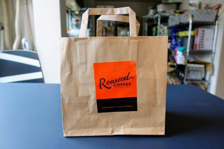 Roasted COFFEE LABORATORYエソラ池袋の紙袋