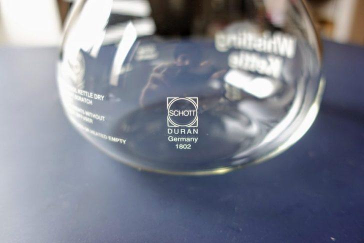 DURAN®ロゴとドイツのSCHOTT社が製造する特殊なガラス