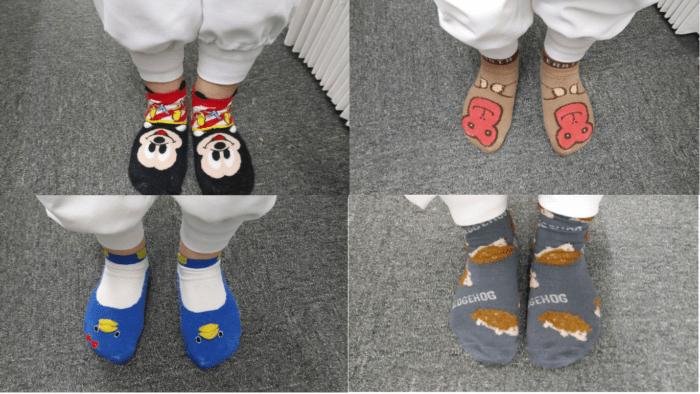 靴下コレクション