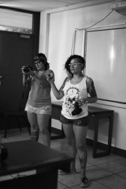 Rap Workshop – Giving a workshop and filming their documentary, they're superwomen!