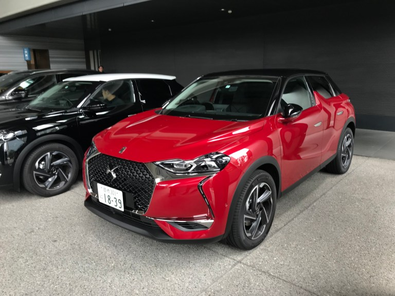 DS3 crossback 試乗