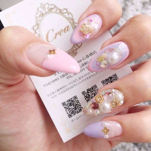 Fill and gel nail art from Nail Crea