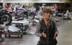 Ernst hosts annual Roast & Ride