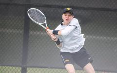 Hawkeye men's tennis players named for academic achievement