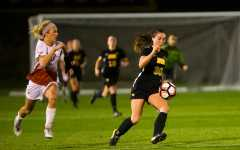 Iowa soccer vs. Nebraska