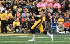 Iowa football's mid-season report cards: Quarterback
