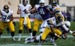 Iowa's offense goes flat in loss to Northwestern