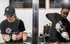 Rolled ice cream sweetens Iowa City