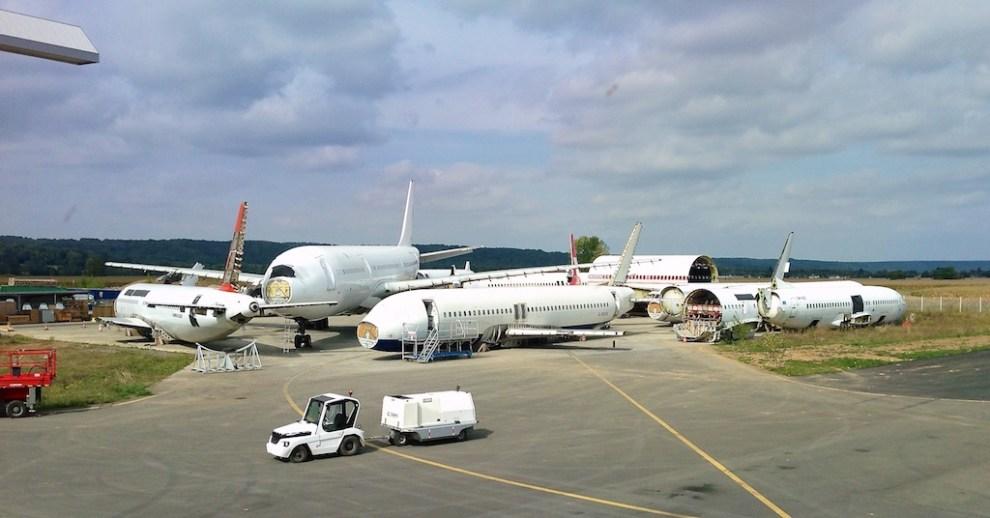 Tarbes Aircraft Recycling