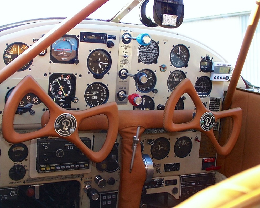Staggerwing Cockpit