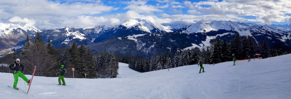 Skiing Panorama