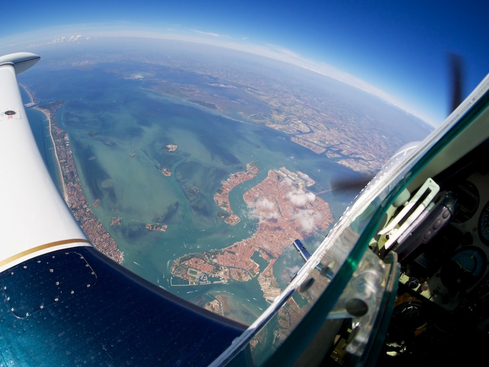 Overhead Venice
