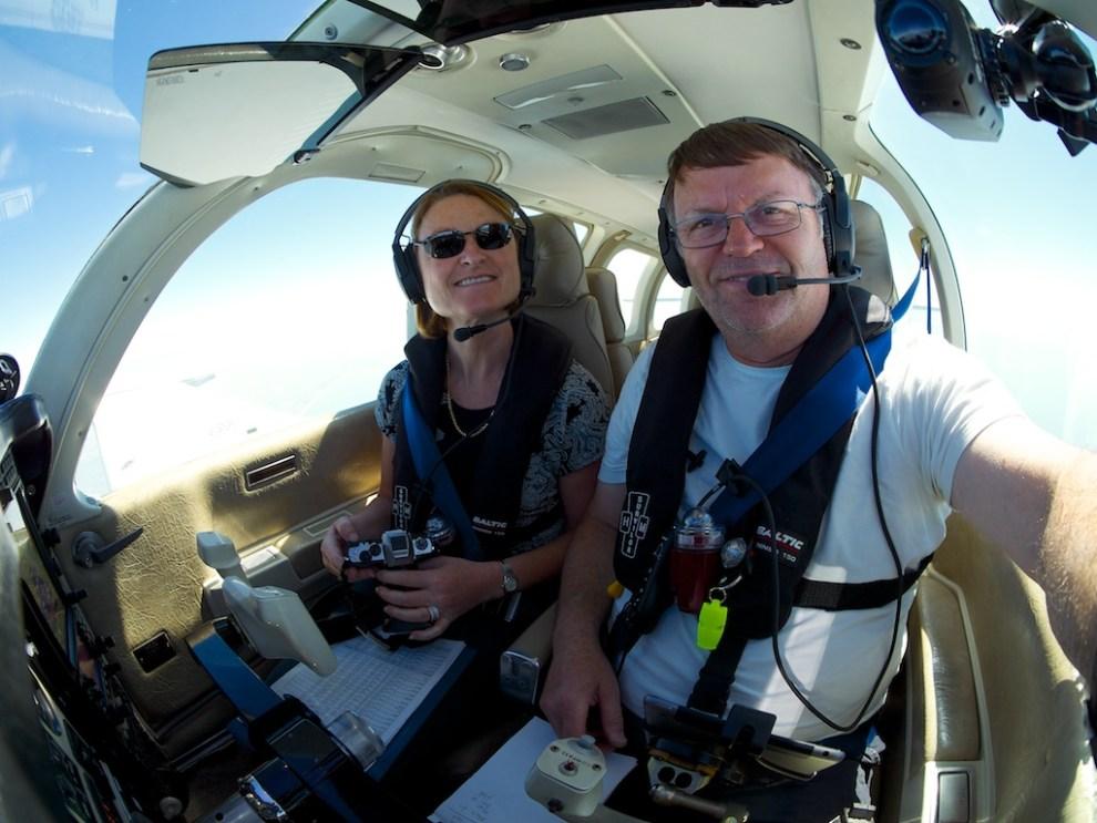 Airborne Selfie