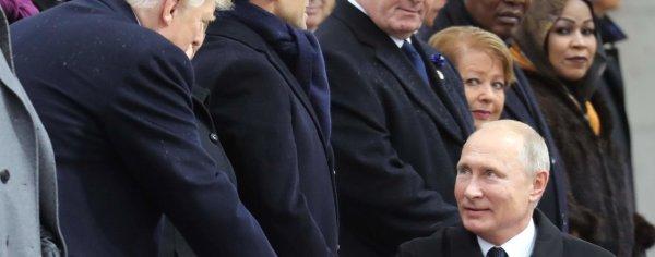 Мир Карликовый Путин Фотография которая рассердила