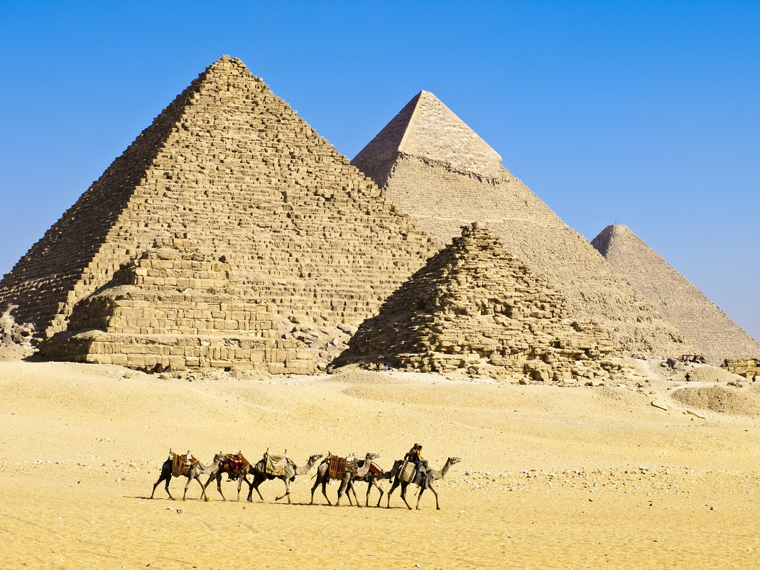 Scientists Have An Answer To How The Egyptian Pyramids