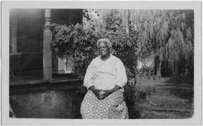 Mrs. Mary Crane - 82 yrs. old ex-slave, Mitchell, Ind. Repository: Library of Congress Prints and Photographs Division Washington, D.C. 20540 USA