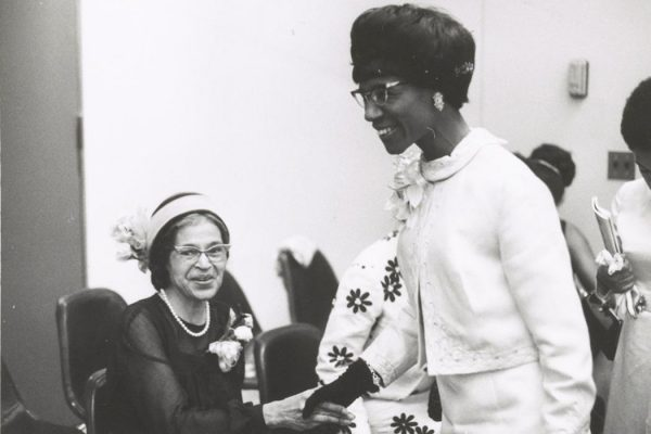 Shirley Chisholm and Rosa Parks