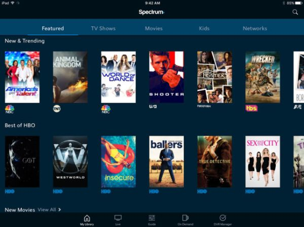 Spectrum TV App For Android Free Download