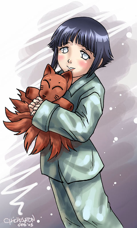 Hinata Hyuga Team Kurenai Daily Anime Art
