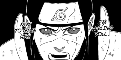Hashirama tells everyone not to give up