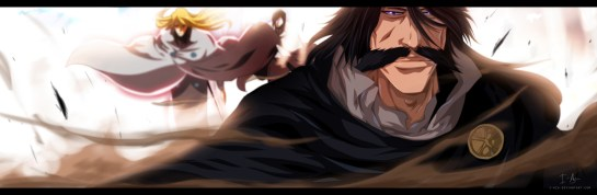 Bleach 587 Yhwach Jugram and Ishida by i-azu