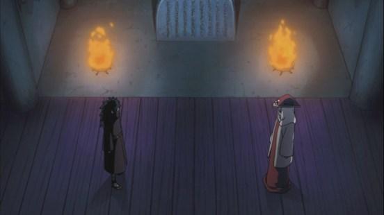 Madara and Hashirama at Uchiha Wall