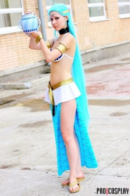 Aquarius Cosplay with legs by Ginkirii