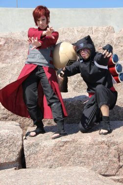Gaara and Kankuro Brothers Cosplay by Nekomatalee