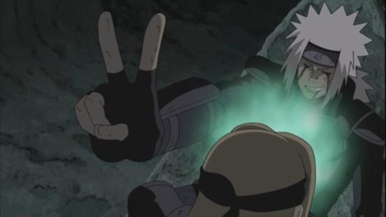 Jiraiya peace to Orochimaru