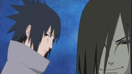Jiraiya waits for Sasuke's future