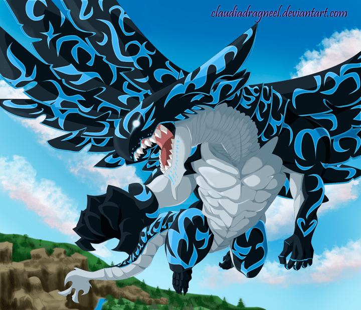 Fairy Tail 399 Acnologia by claudiadragneel