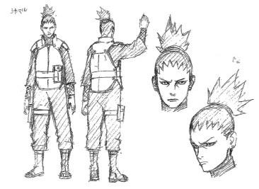 Shikamaru New Look