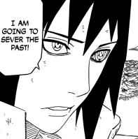Sasuke to sever the past