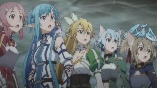 Sword Art Online Girls