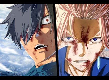 Fairy Tail 409 Sting and Rogue by jxonsive