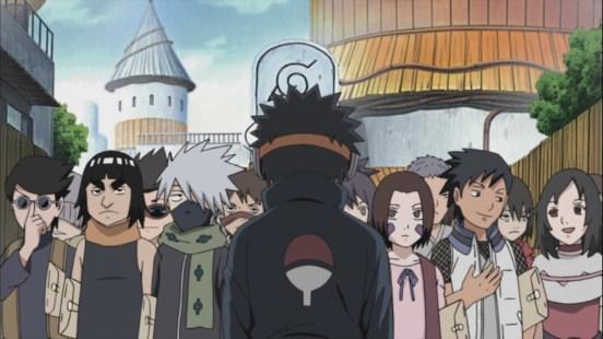 Obito meets his friends