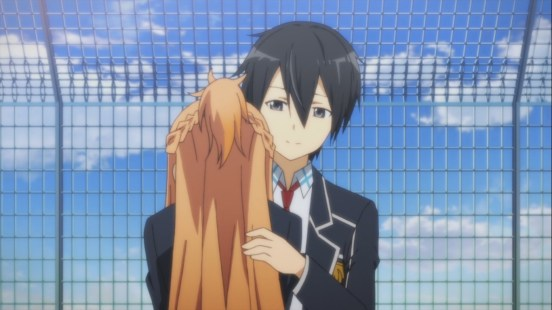 Asuna and Kirigaya