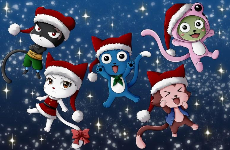 Happy Christmas Fairy Tail by celestialrayna