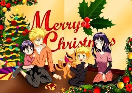 Naruto Christmas by malami95