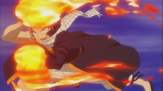 Natsu's Attack