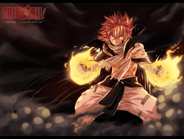 Fairy Tail 418 Natsu Fired Up by i-azu