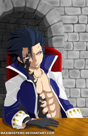 Fairy Tail 424 Gray Fullbuster of Avatar by maxibostero