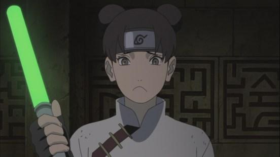 Tenten upset look