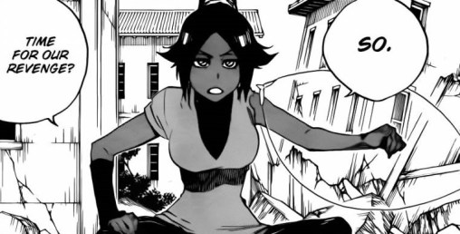 Yoruichi on Revenge