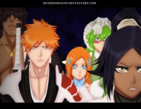 Bleach 627 Ichigo and Others by Renzolomagno