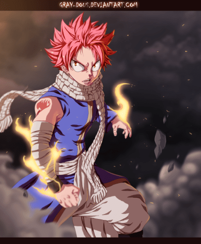 Fairy Tail 432 Natsu by gray-dous